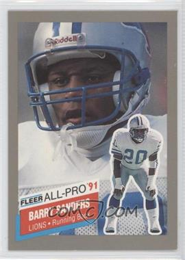 1991 Fleer All-Pro #9 - Barry Sanders