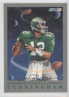 1991 Fleer Pro Vision #7 - Randall Cunningham