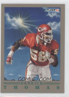 1991 Fleer Pro Vision #9 - Derrick Thomas
