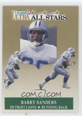 1991 Fleer Ultra - All-Stars #1 - Barry Sanders