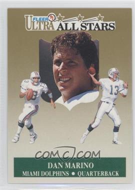 1991 Fleer Ultra - All-Stars #5 - Dan Marino