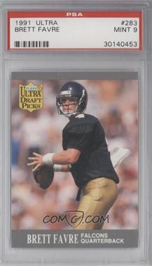 1991 Fleer Ultra - [Base] #283 - Brett Favre  [PSA9]