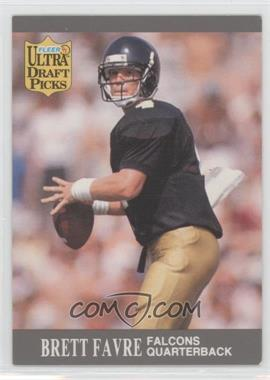 1991 Fleer Ultra - [Base] #283 - Brett Favre