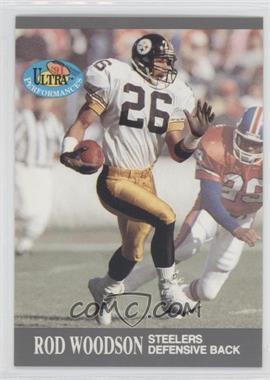 1991 Fleer Ultra - Performances #8 - Rod Woodson