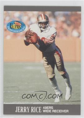 1991 Fleer Ultra - Performances #9 - Jerry Rice