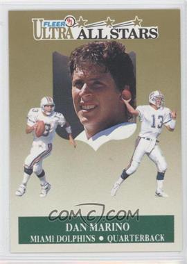 1991 Fleer Ultra All-Stars #5 - Dan Marino