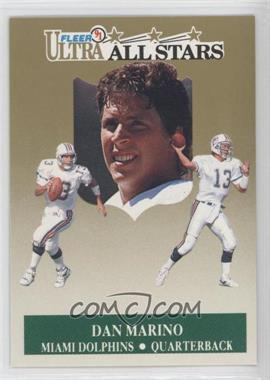1991 Fleer Ultra All-Stars #5 - Dan Marino