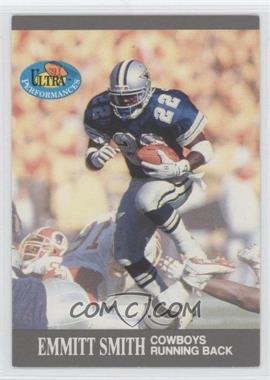 1991 Fleer Ultra Performances #1 - Emmitt Smith