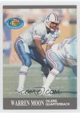 1991 Fleer Ultra Performances #5 - Warren Moon
