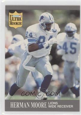 1991 Fleer Ultra Update - [Base] #U-27 - Herman Moore