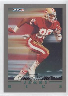 1991 Fleer Ultra Update - [Base] #U-99 - Jerry Rice