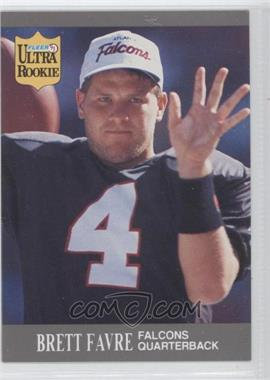 1991 Fleer Ultra Update #U-1 - Brett Favre