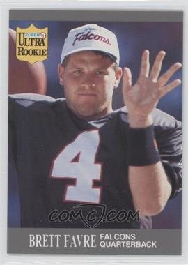 1991 Fleer Ultra Update #U-1 - Brett Favre