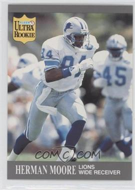1991 Fleer Ultra Update #U-27 - Herman Moore