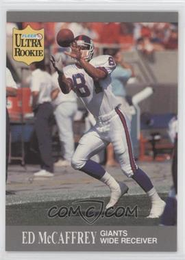 1991 Fleer Ultra Update #U-65 - Ed McCaffrey