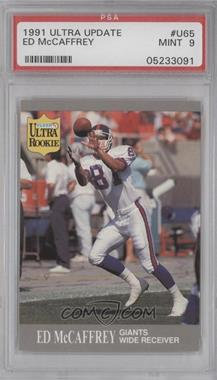 1991 Fleer Ultra Update #U-65 - Ed McCaffrey [PSA 9]