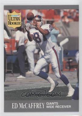 1991 Fleer Ultra Update #U-65 - Ed McCaffrey