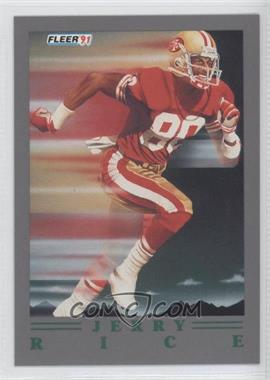 1991 Fleer Ultra Update #U-99 - Jerry Rice