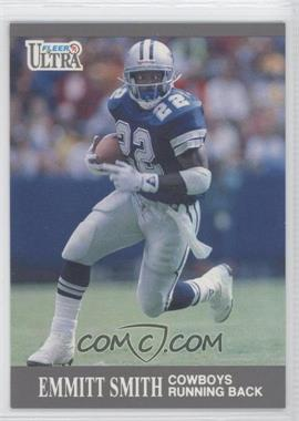 1991 Fleer Ultra #165 - Emmitt Smith