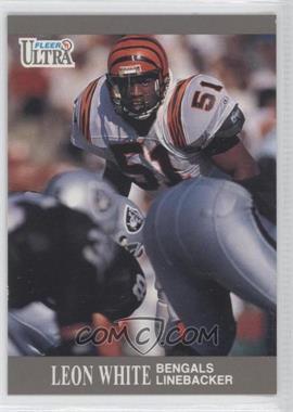 1991 Fleer Ultra #22 - Leon White