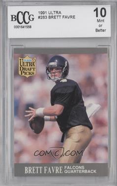 1991 Fleer Ultra #283 - Brett Favre  [ENCASED]