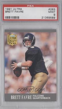 1991 Fleer Ultra #283 - Brett Favre  [PSA9]