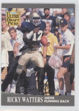 1991 Fleer Ultra #297 - Ricky Watters