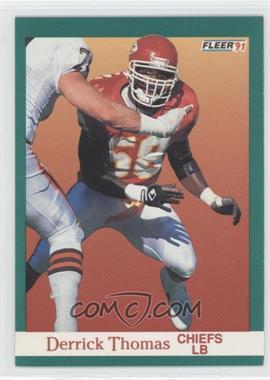 1991 Fleer #100 - Derrick Thomas