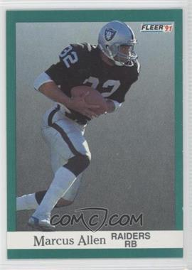 1991 Fleer #102 - Marcus Allen