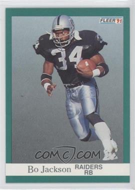 1991 Fleer #110 - Bo Jackson