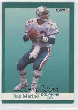 1991 Fleer #124 - Dan Marino