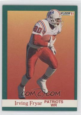 1991 Fleer #137 - Irving Fryar