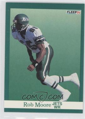 1991 Fleer #153 - Rob Moore