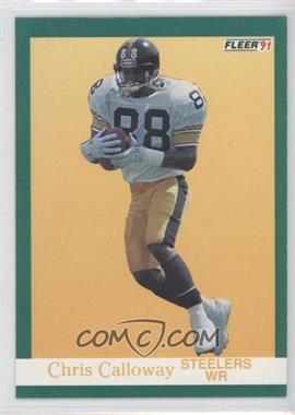 1991 Fleer #157 - Chris Calloway