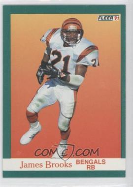 1991 Fleer #16 - James Brooks