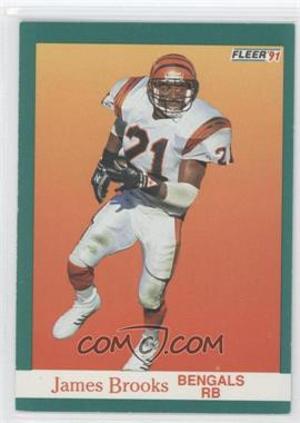 1991 Fleer #16 - James Brooks