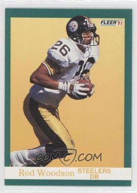 1991 Fleer #168 - Rod Woodson