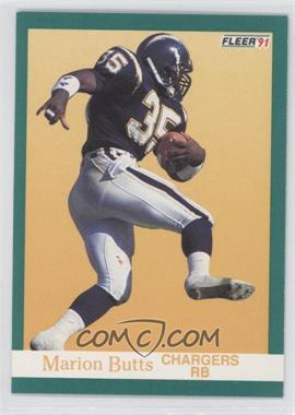 1991 Fleer #171 - Marion Butts