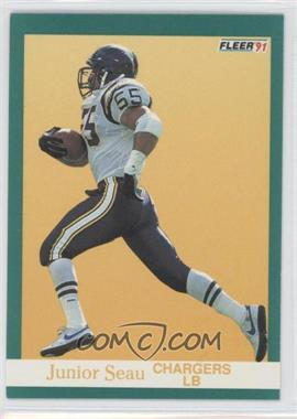 1991 Fleer #179 - Junior Seau