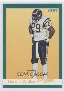 1991 Fleer #181 - Derrick Walker