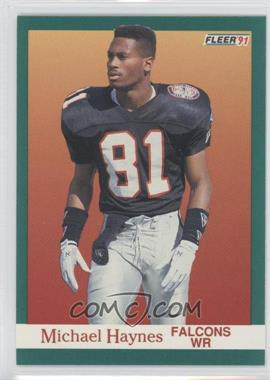 1991 Fleer #202 - Michael Haynes