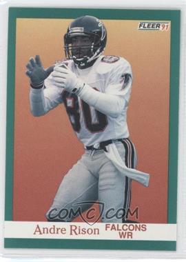 1991 Fleer #208 - Andre Rison