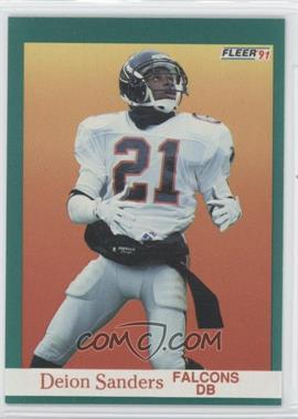 1991 Fleer #210 - Deion Sanders