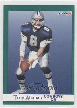 1991 Fleer #228 - Troy Aikman