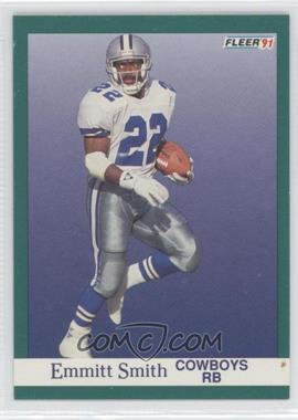 1991 Fleer #237 - Emmitt Smith