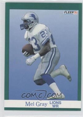 1991 Fleer #245 - Mel J. Gray