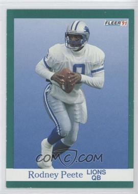 1991 Fleer #246 - Rodney Peete
