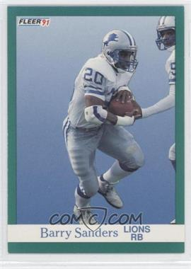 1991 Fleer #247 - Barry Sanders
