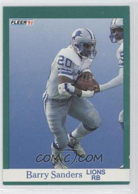1991 Fleer #247 - Barry Sanders