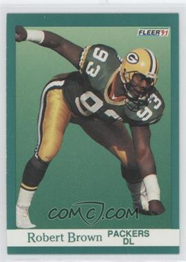 1991 Fleer #250 - Robert Brown